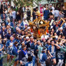 栄和町のお神輿。