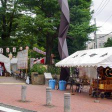 松濤町の神酒所は松濤公園の正面入り口でした。